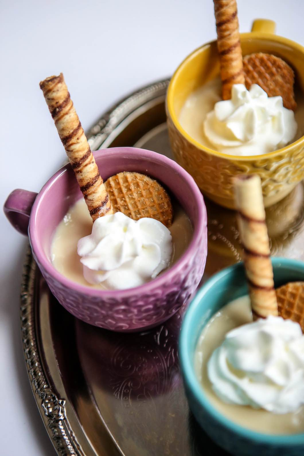 Best Vanilla Pudding Recipe with fairlife ultra-filtered milk by Jessica from Happily Hughes