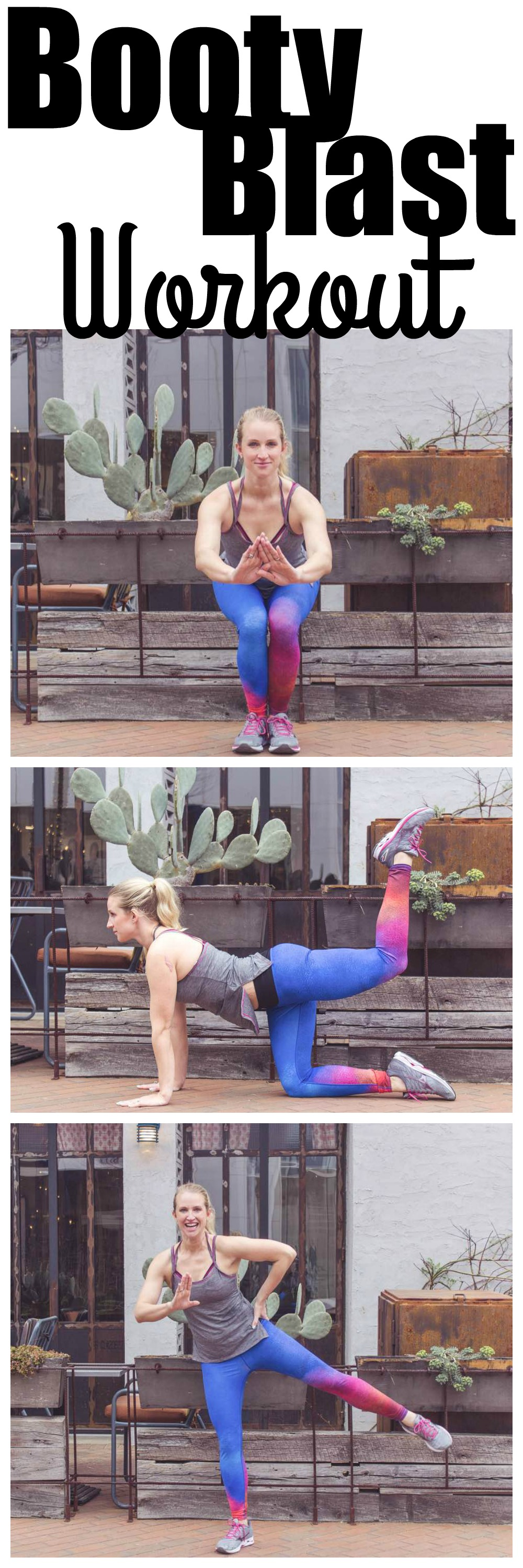 Booty Workout At Home with Athleta by Atlanta fitness blogger Jessica from Happily Hughes
