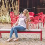 madewell jeans and embroidered top