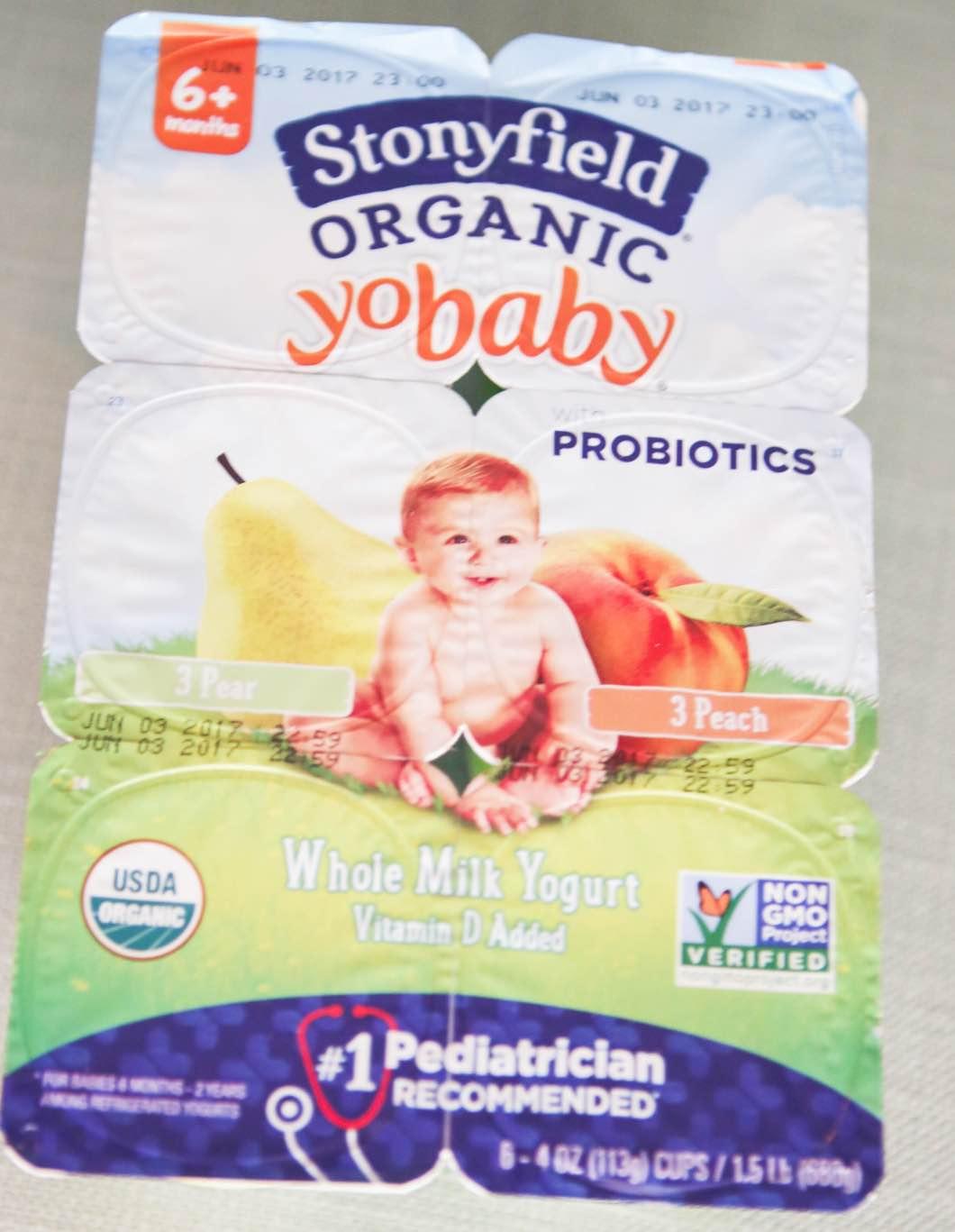 Stonyfield with Probiotics