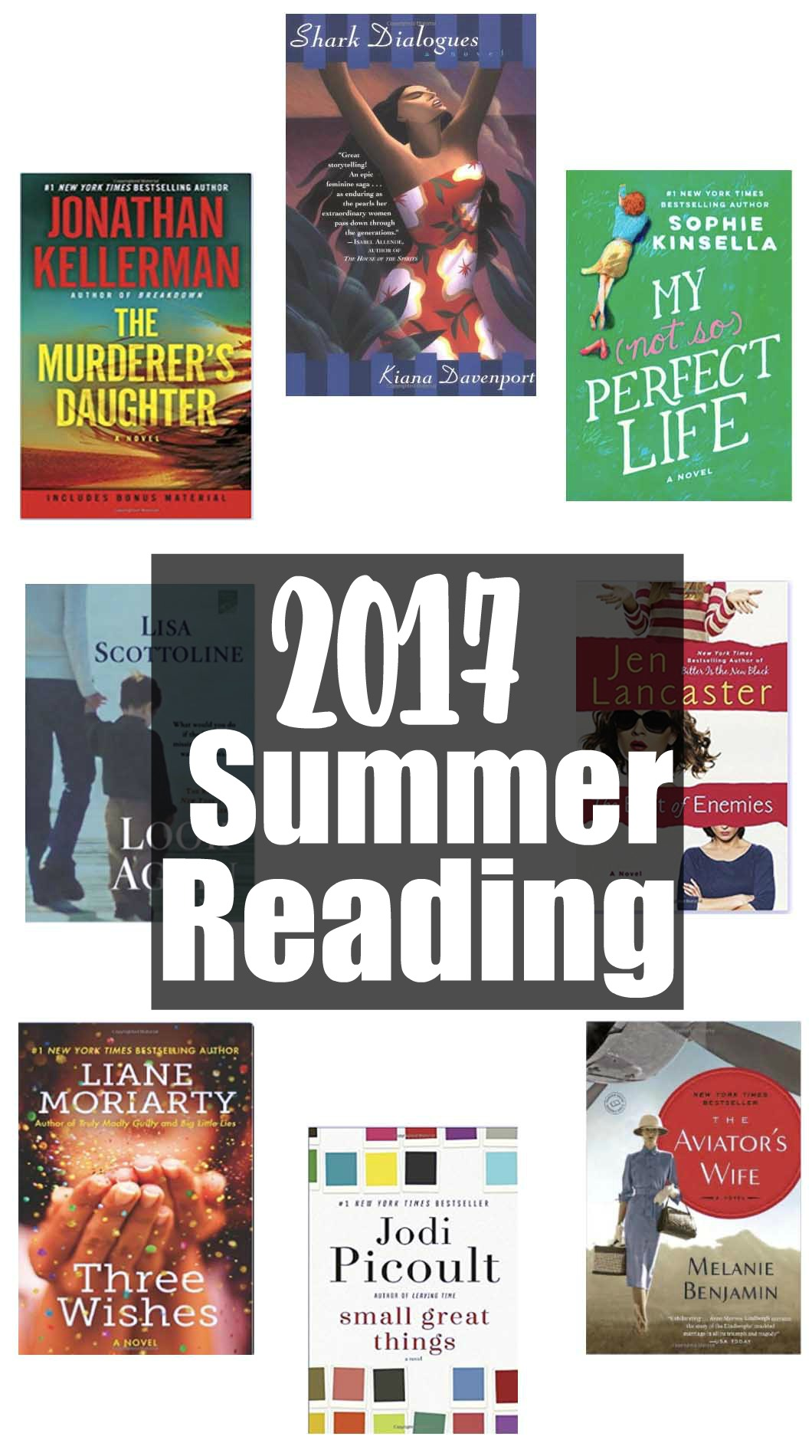 2017 Summer Reading List by Atlanta blogger Jessica from Happily Hughes