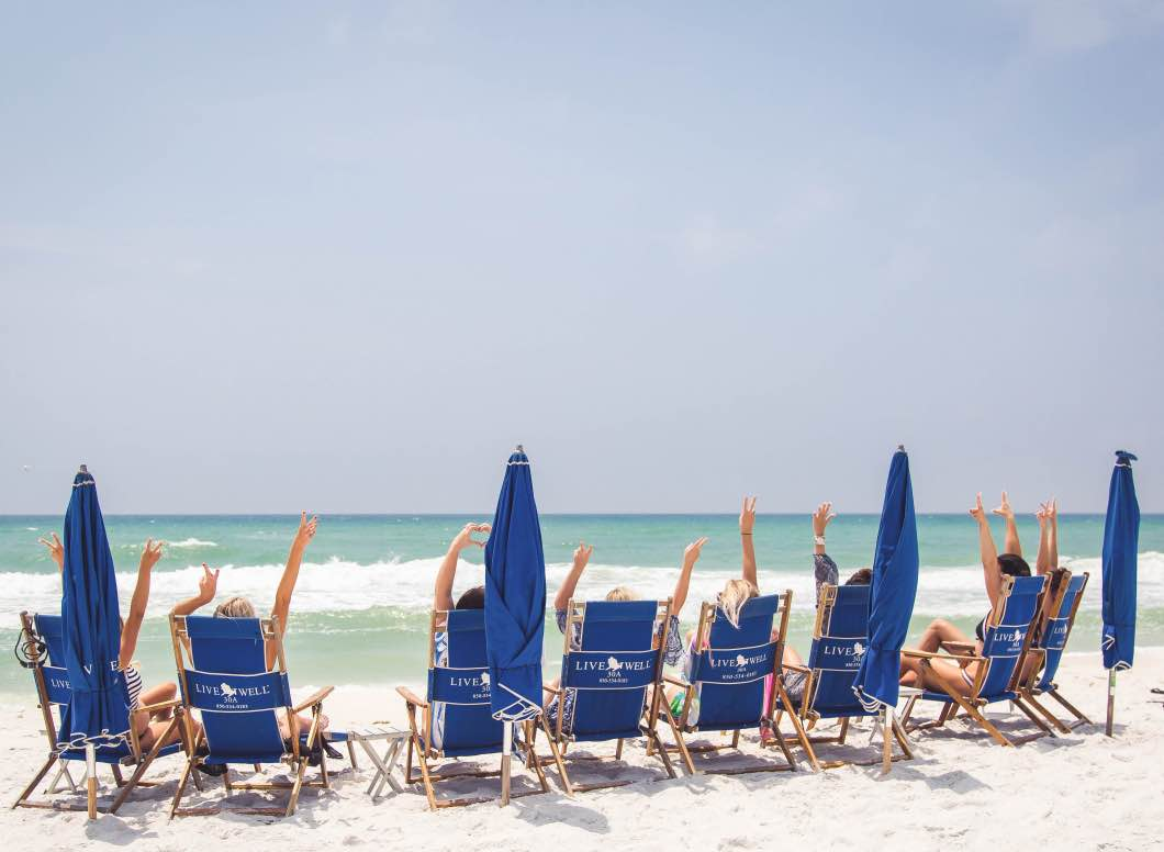 30A Rosemary Beach FL Travel Guide by fitness blogger Jessica of Happily Hughes