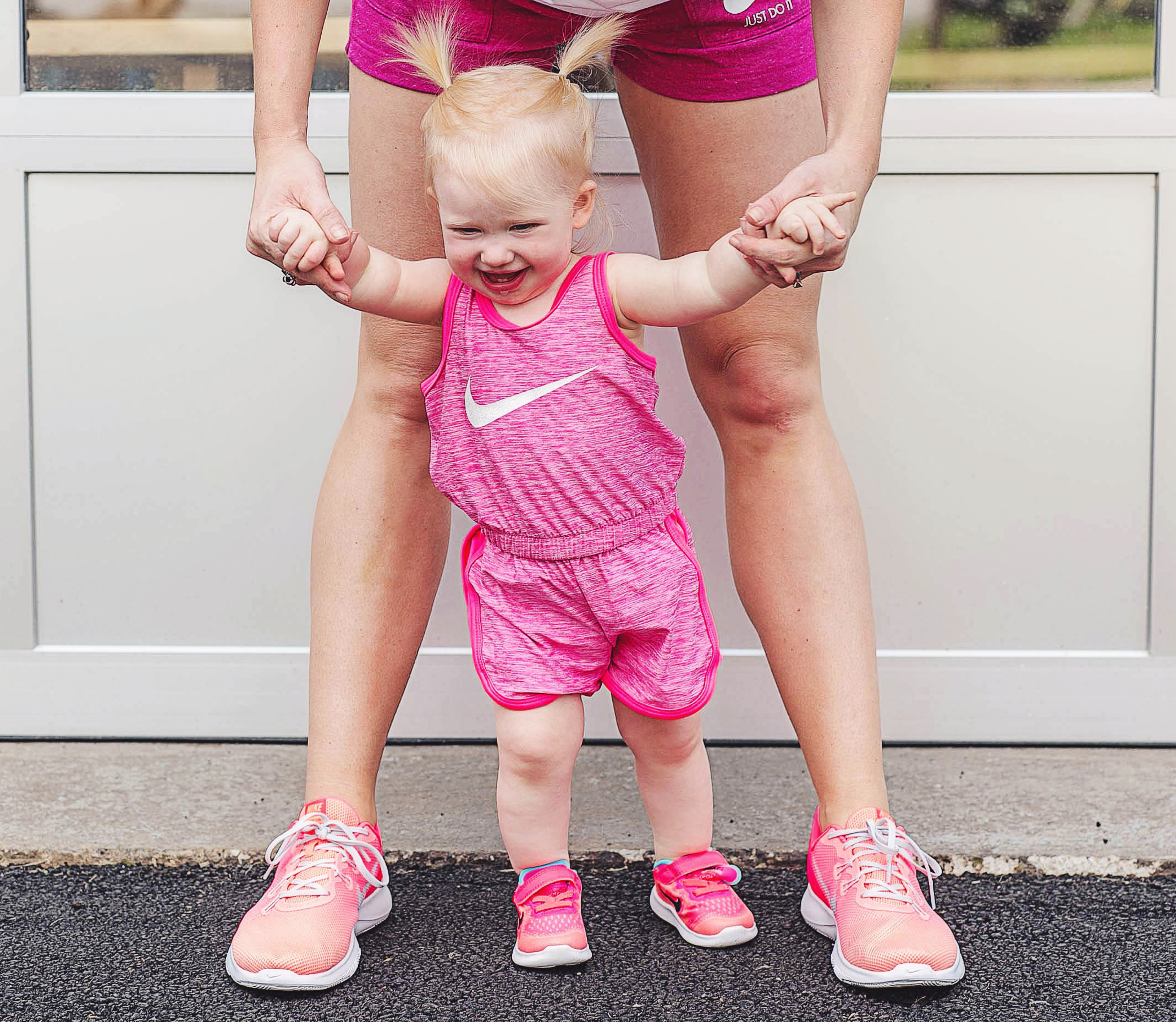 Mom and Baby Workout with Zappos by Atlanta fitness blogger Jessica of Happily Hughes