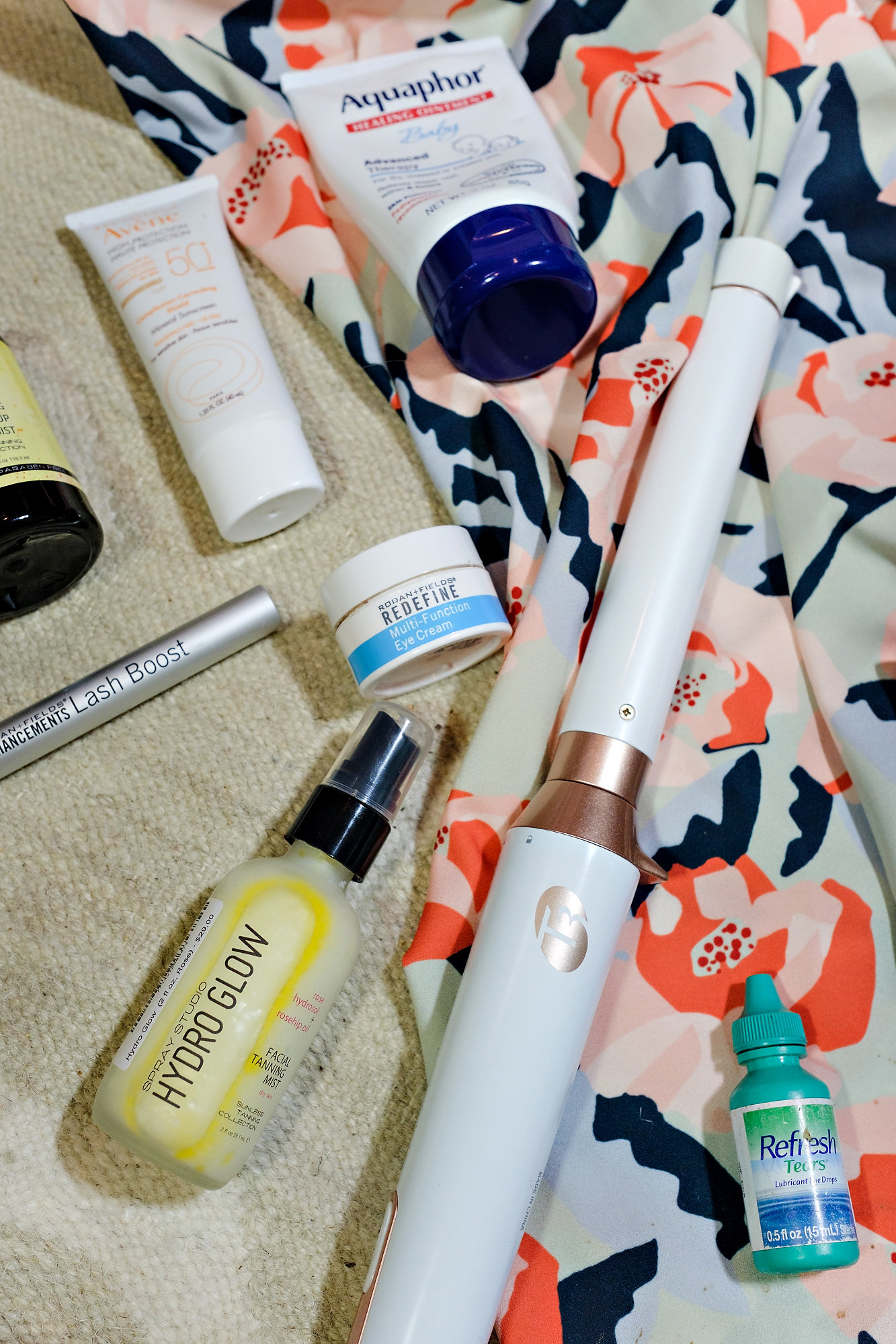 My 9 Beauty Travel Must Haves by Atlanta blogger Jessica of Happily Hughes