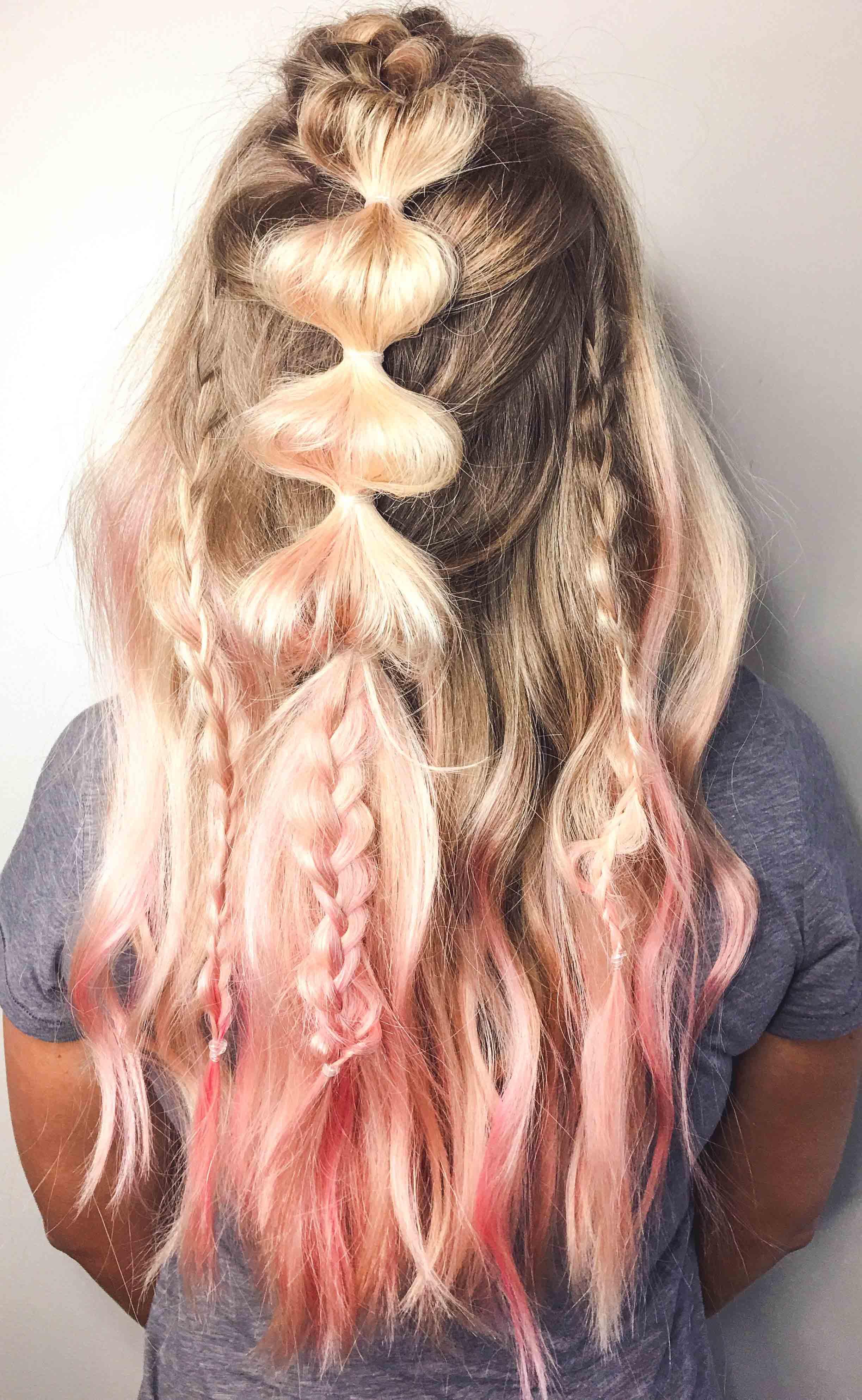 how to unicorn hair