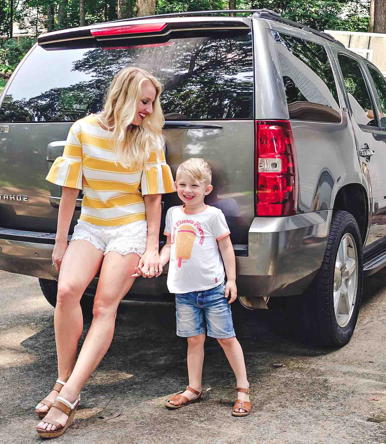 Road Trip Checklist for Kids 4 and Under by popular Atlanta blogger Happily Hughes