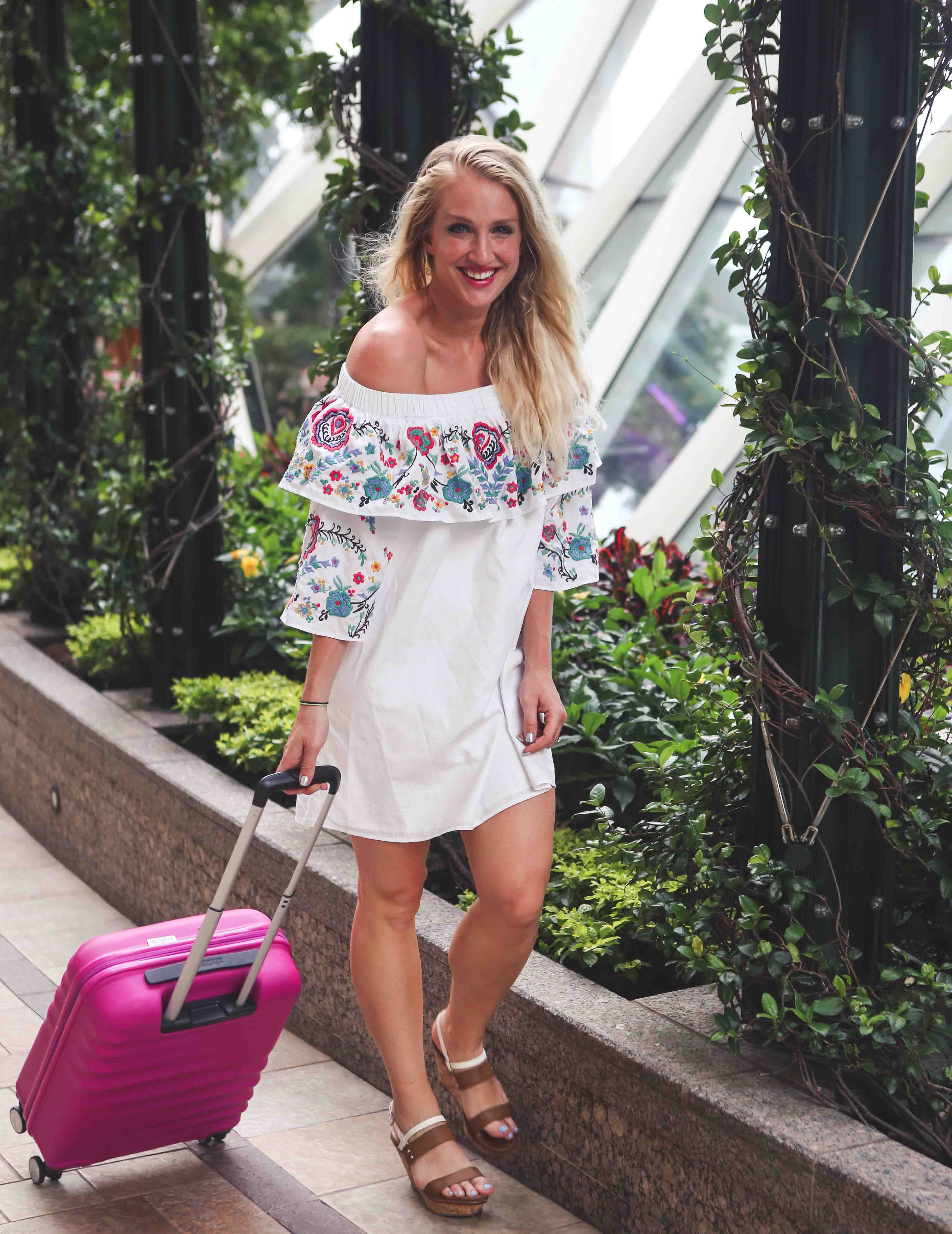 Packing Checklist for Girls' Getaway by Atlanta fitness blogger Happily Hughes