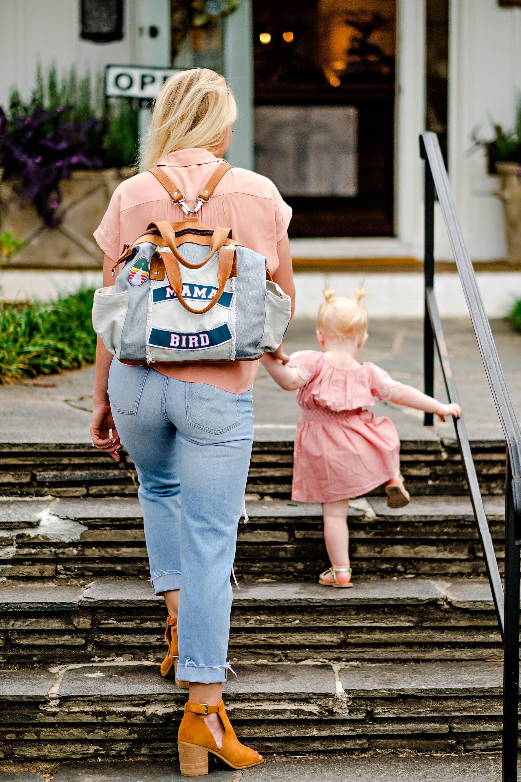 Travel Diaper Bag Essentials by Atlanta mom blogger Happily Hughes