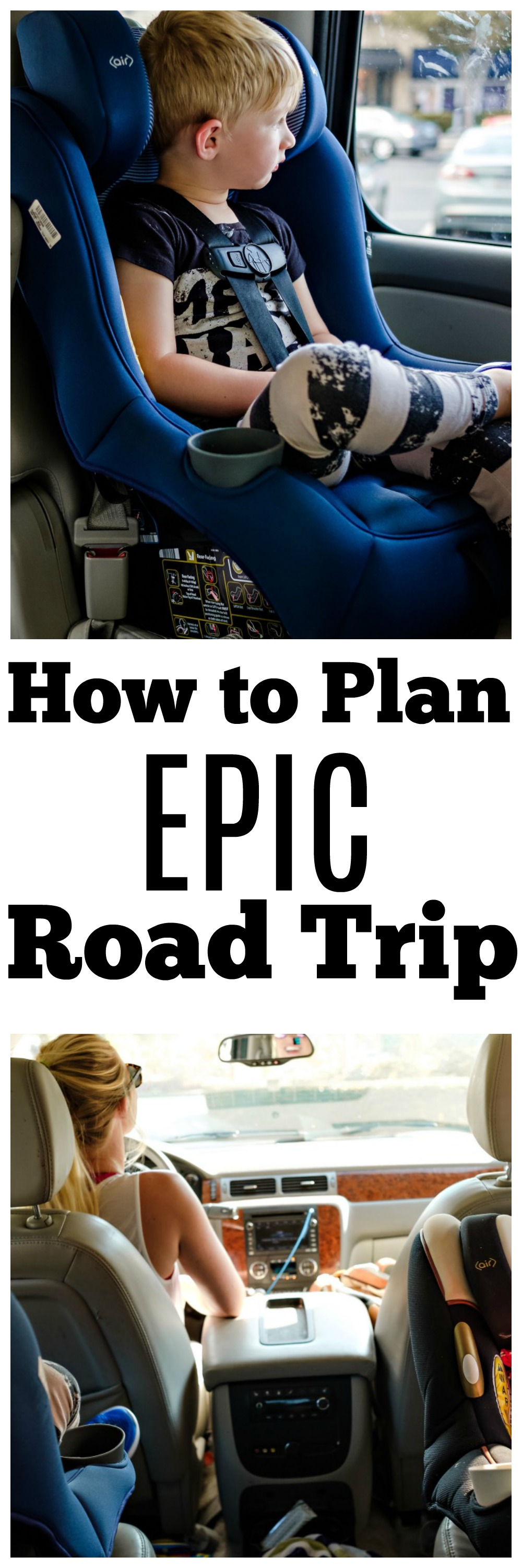 How to Plan a Road Trip with Kids by Atlanta mom blogger Happily Hughes
