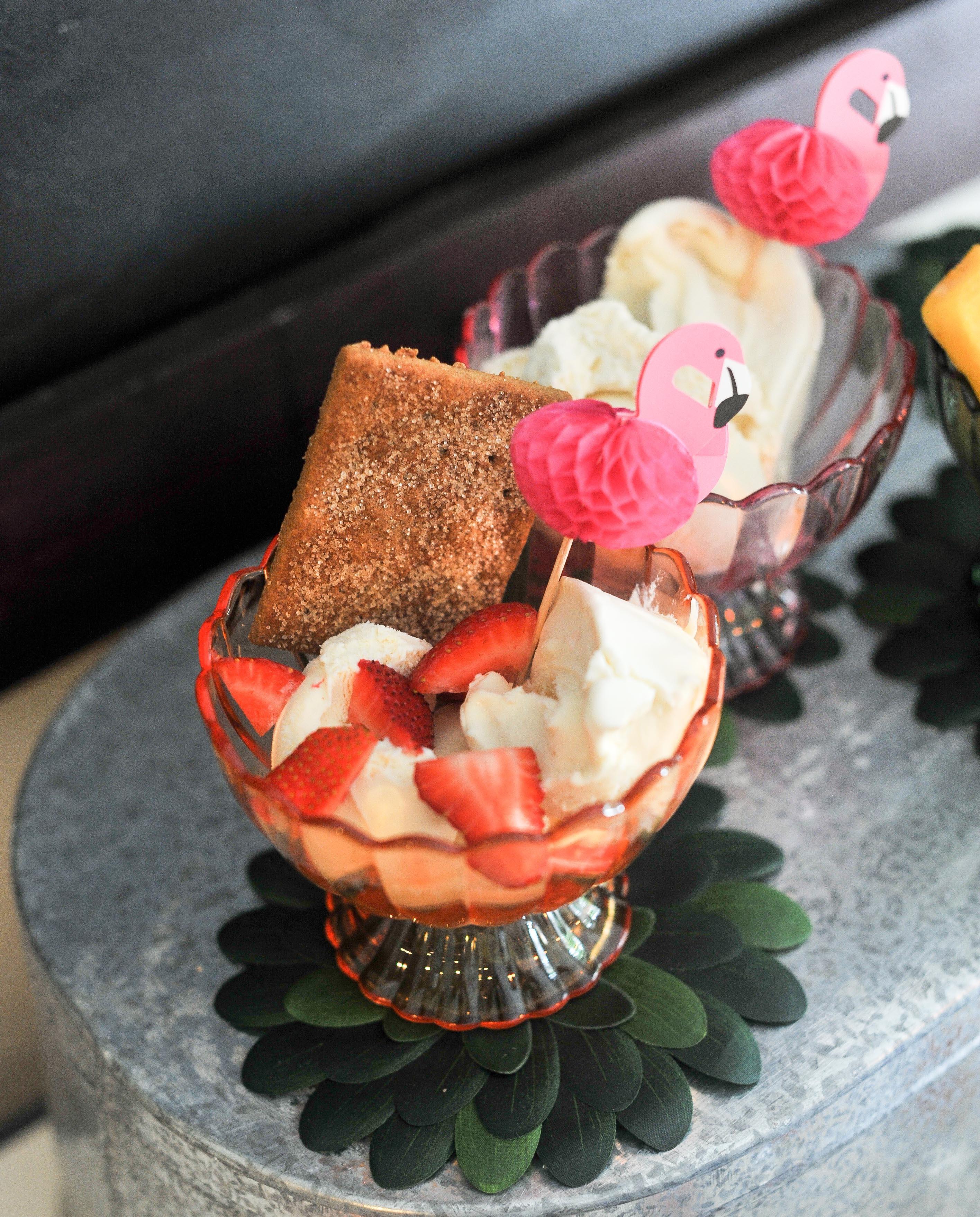 Healthy Ice Cream Bar by Atlanta blogger Happily Hughes