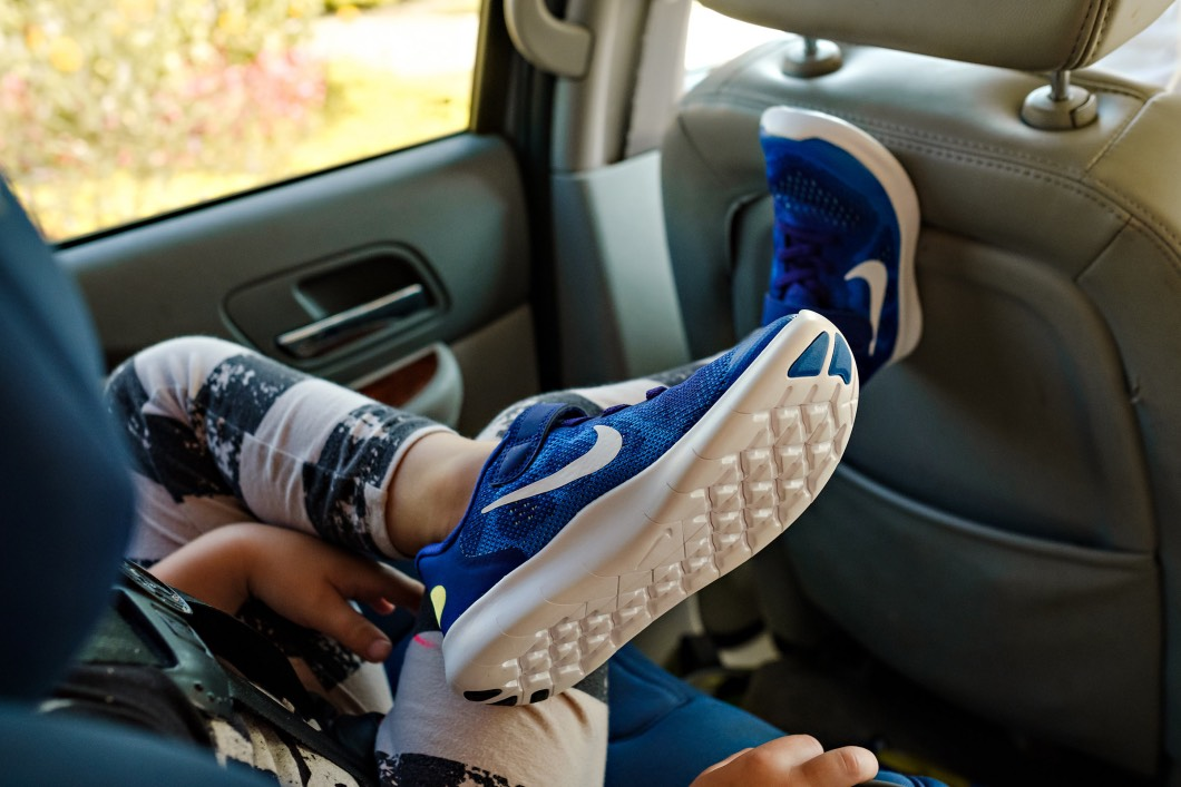 kids on the road - How to Plan a Road Trip with Kids by Atlanta mom blogger Happily Hughes
