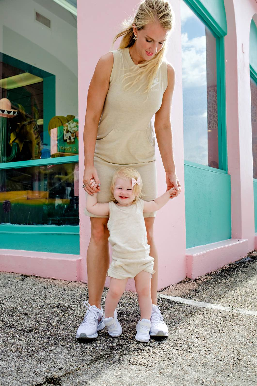 Mother Daughter Outfit for Back to School with Zappos by Atlanta fashion blogger Happily Hughes