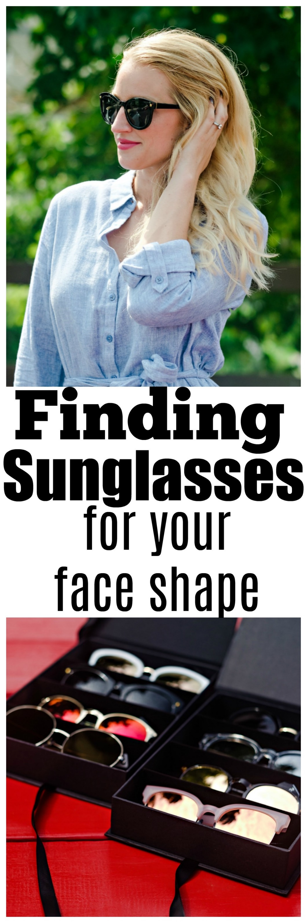sunglasses for your face shape - Summer / Fall Sunglasses Style by Atlanta fashion blogger Happily Hughes