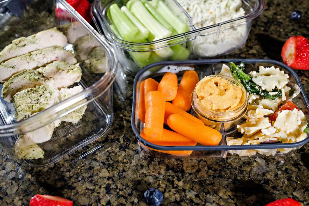 top ten healthy lunches - Top Ten Healthy Lunches by Atlanta fitness blogger Happily Hughes