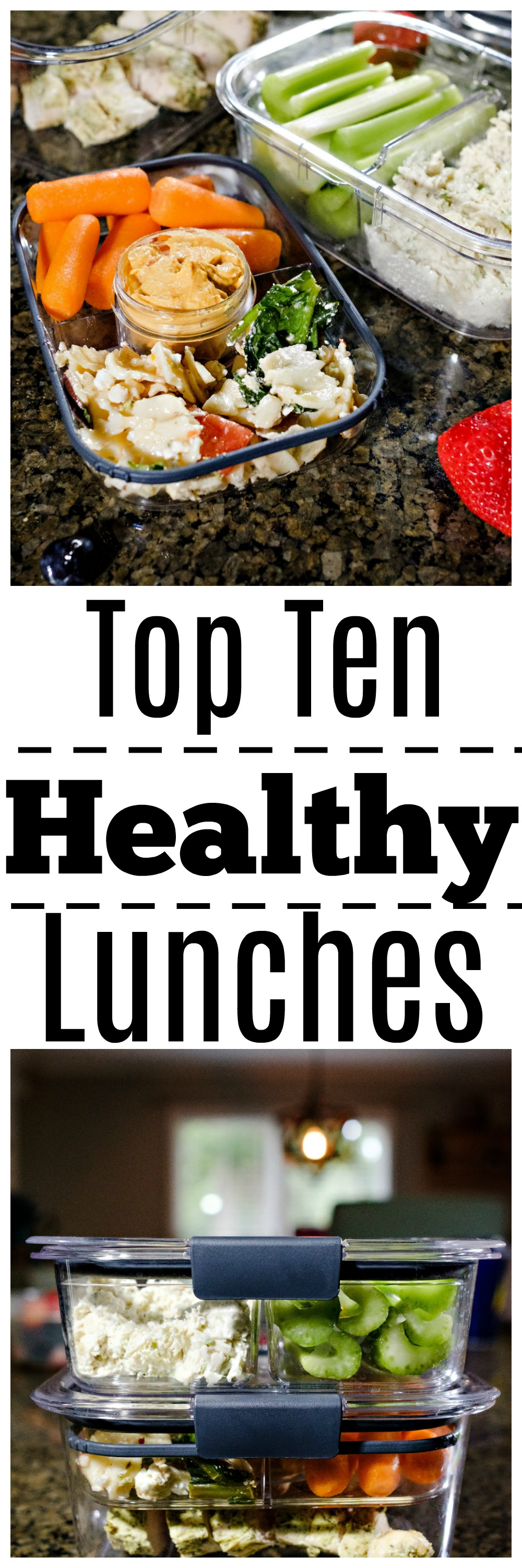 toptenhealthylunches - Top Ten Healthy Lunches by Atlanta fitness blogger Happily Hughes