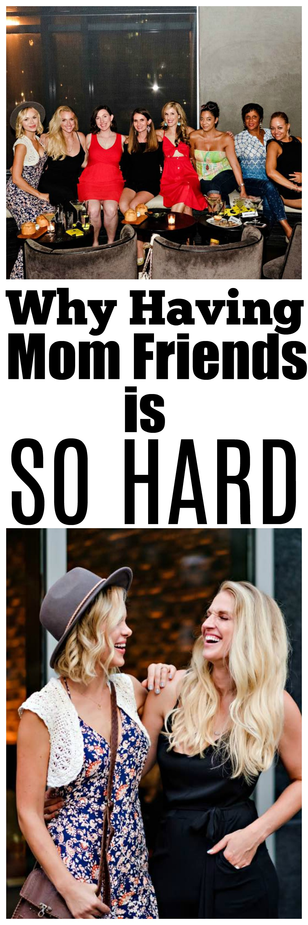 Why Making Mom Friends is So Hard by Atlanta mom blogger Happily Hughes