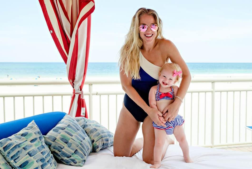 shores resort mom and daughter - Daytona Beach Family Vacation by Atlanta mom blogger Happily Hughes