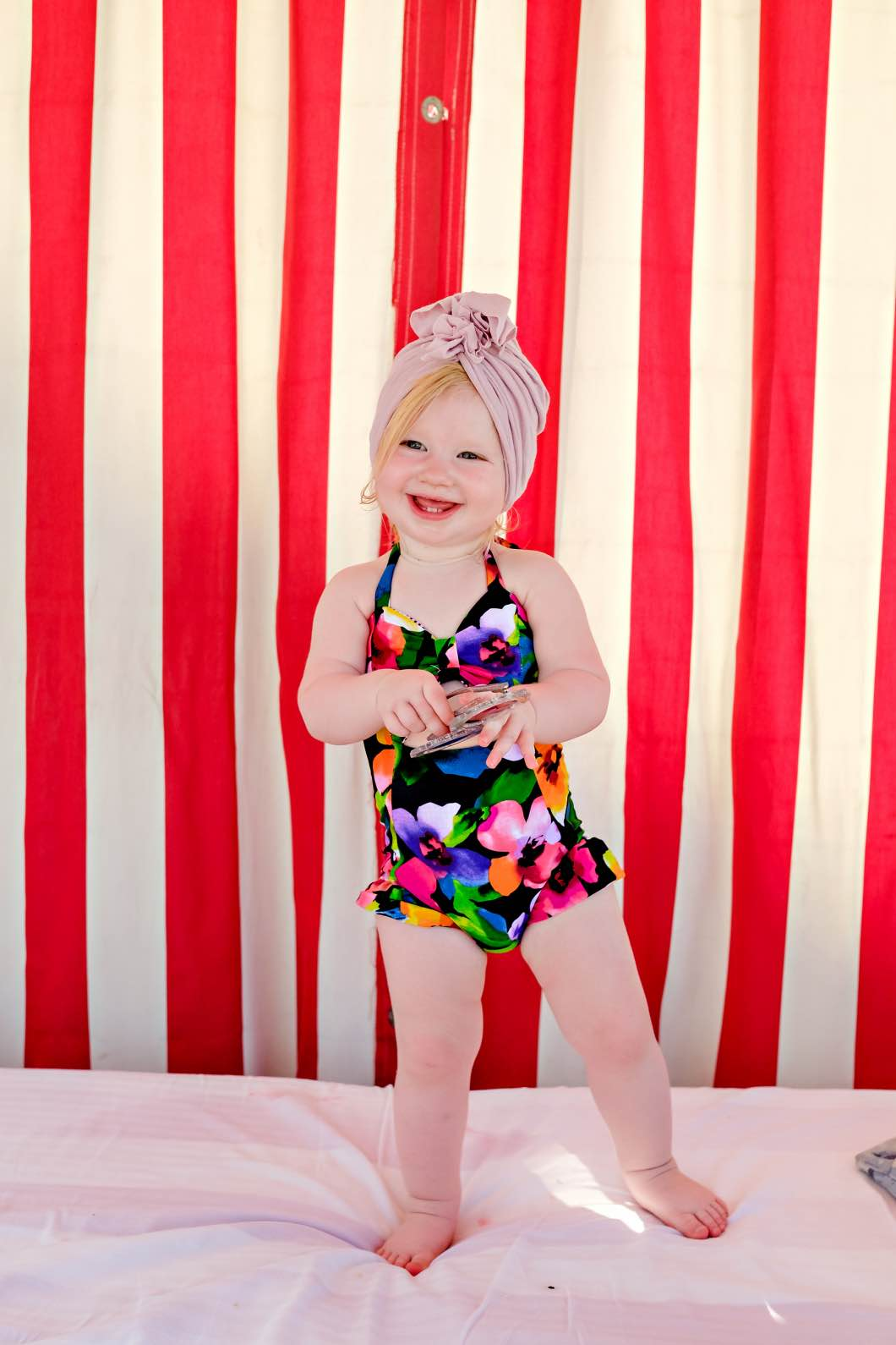 crew and lu baby - Daytona Beach Family Vacation by Atlanta mom blogger Happily Hughes