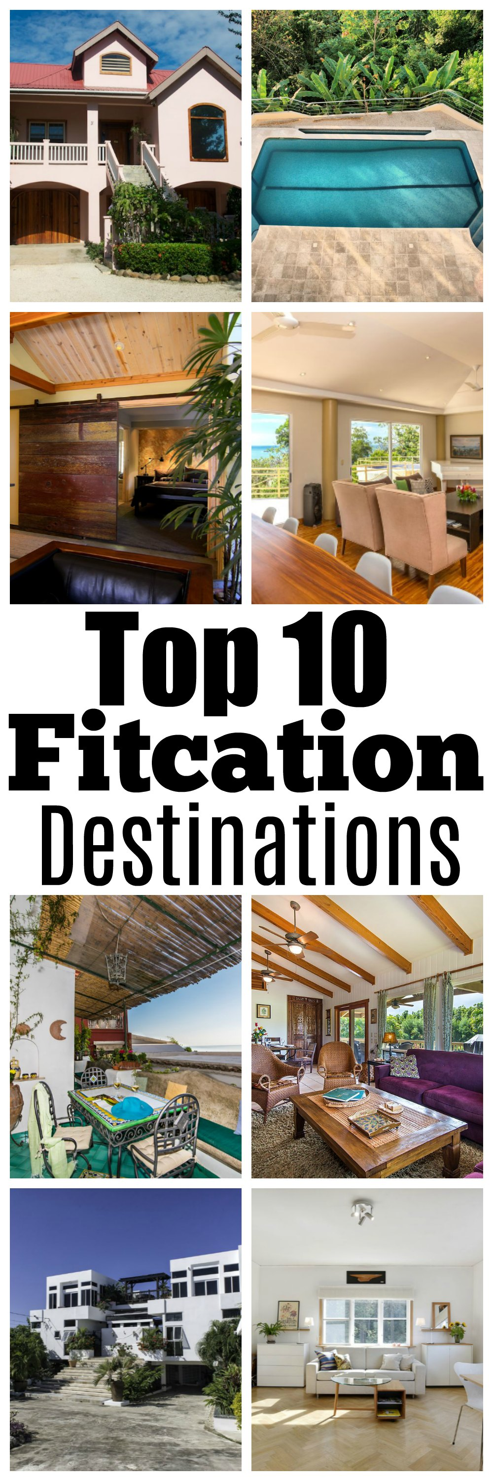 top 10 fitcation destinations - Top 10 Fitness Vacation Destinations with HomeAway by Atlanta fitness blogger Happily Hughes