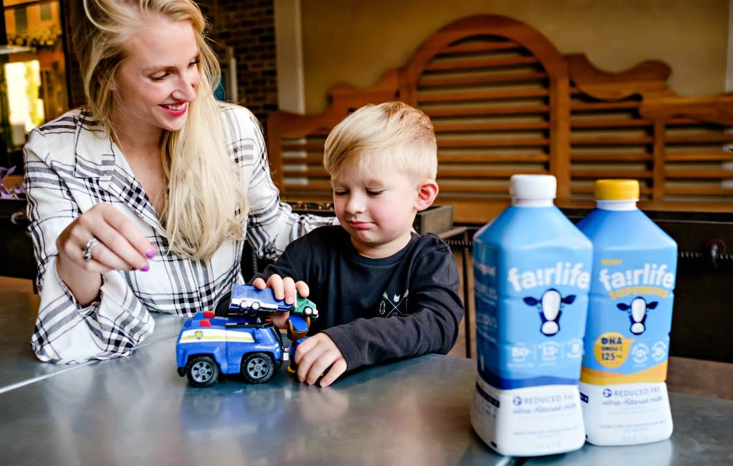 Why We Drink Milk by Atlanta mom blogger Happily Hughes