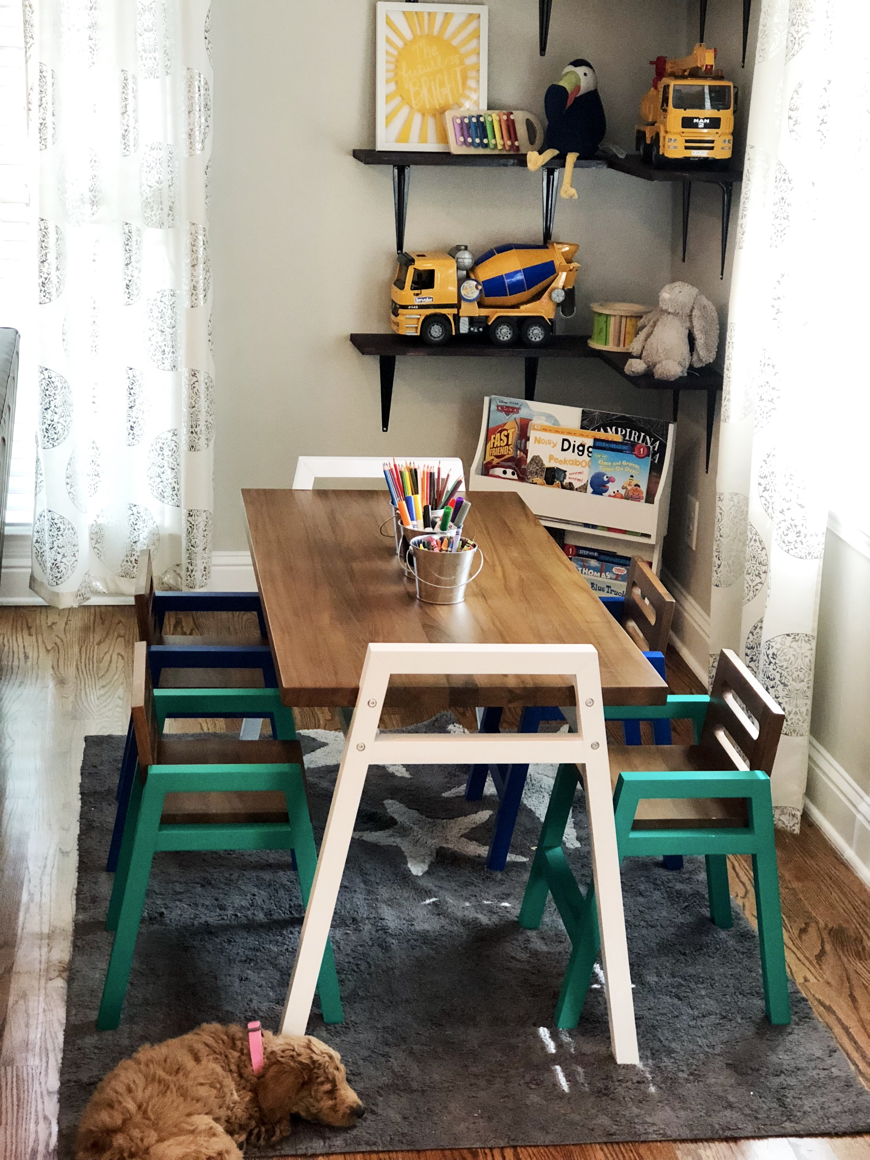 kids nook land of nod - Home Renovations We're Working on Now by Atlanta lifestyle blogger Happily Hughes