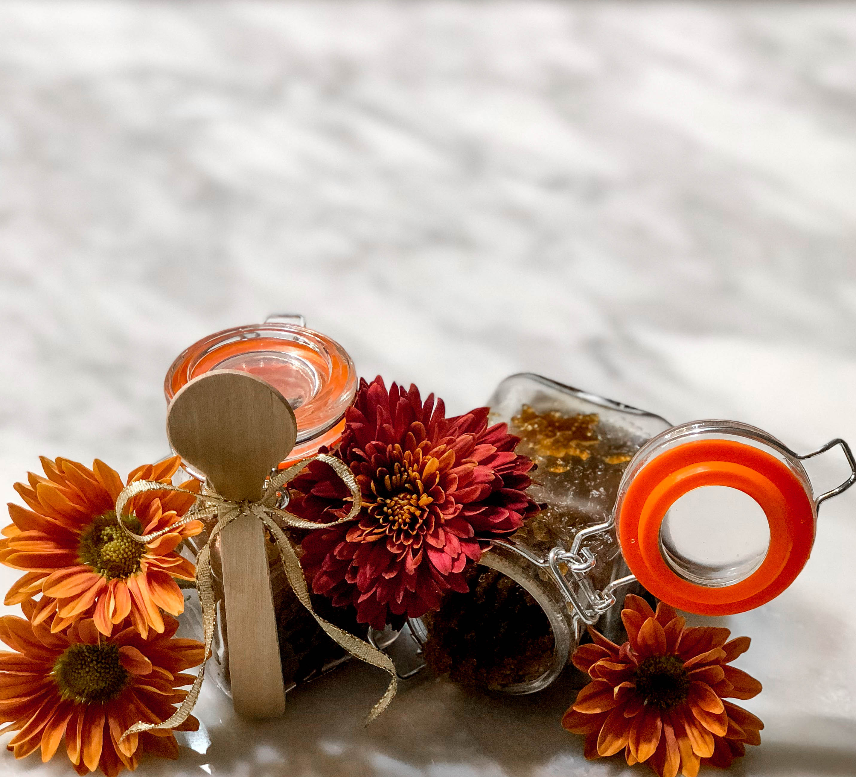 pumpkin body sugar scrub - Holiday Sugar Body Scrub by Atlanta style blogger Happily Hughes