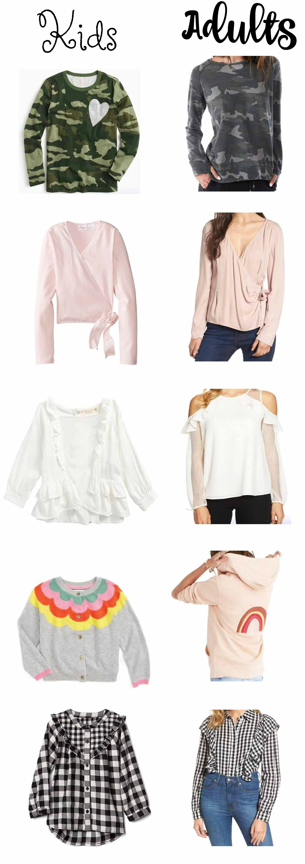 mommyanddaughtermatchingtops - Mommy and Me Outfits - Matching Fall Outfits by Atlanta lifestyle blogger Happily Hughes