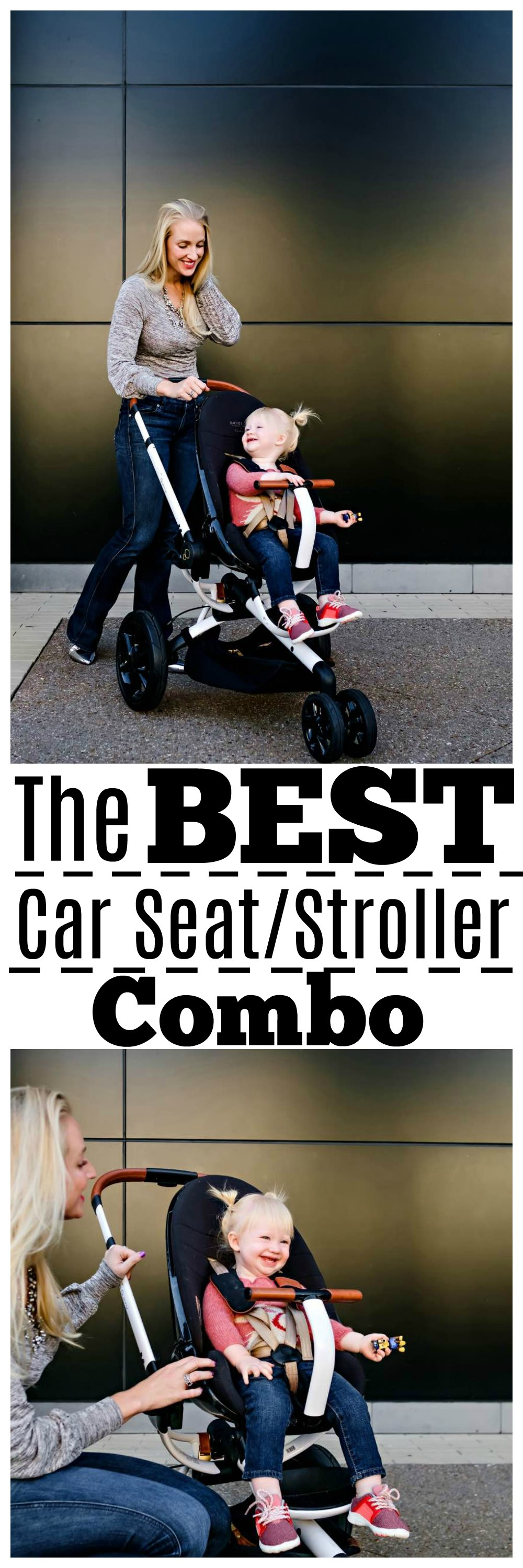 the best car seat stroller combo - Maxi Cosi Rachel Zoe Collection by Atlanta mom blogger Happily Hughes