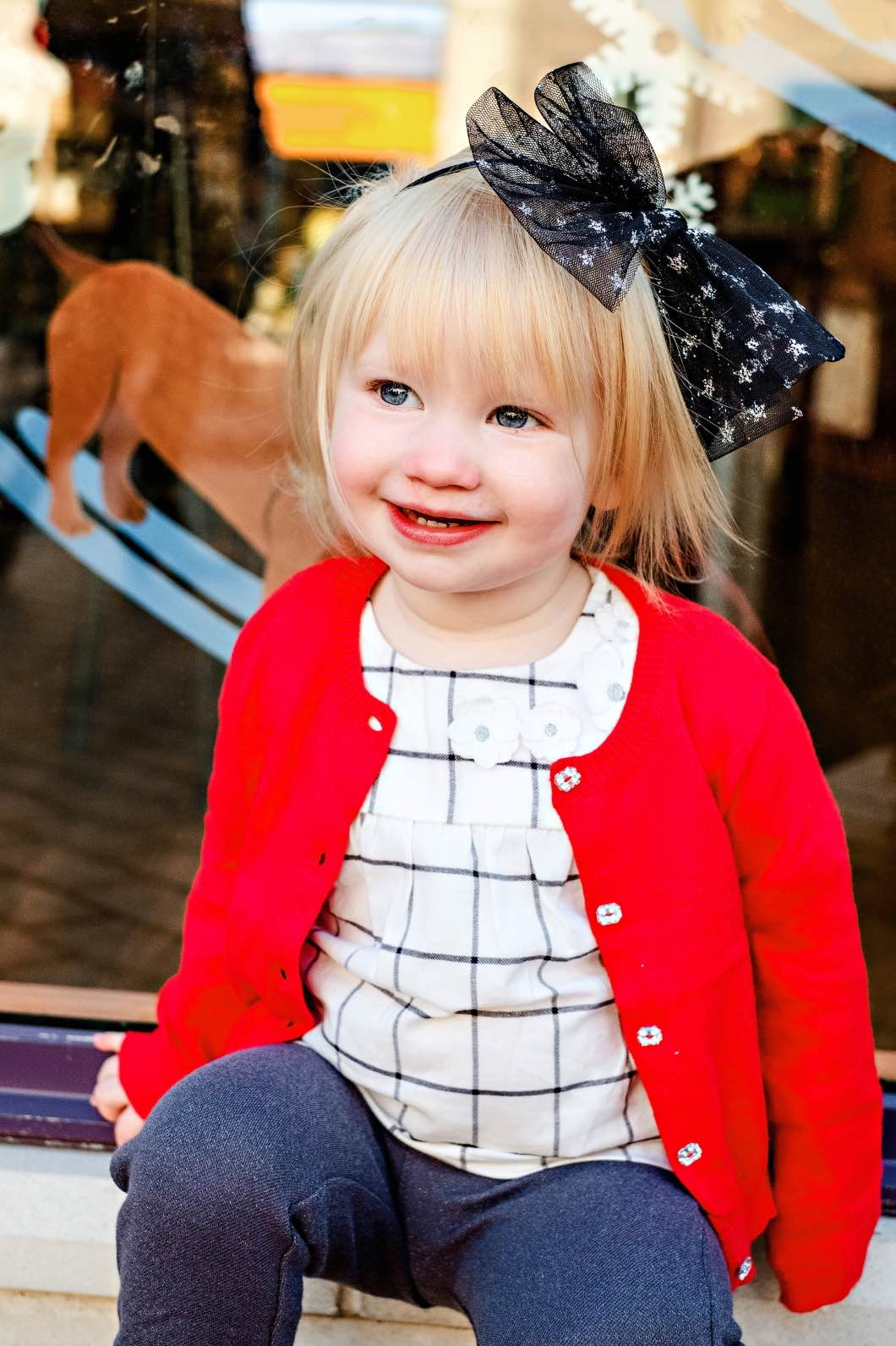 Holiday Outfits with Carters by Atlanta mom blogger Happily Hughes