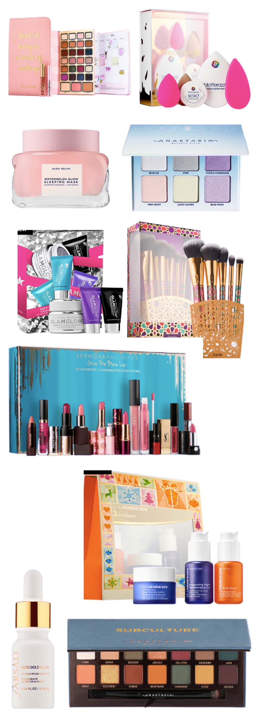 Beauty Holiday Gift Guide by Atlanta style blogger Happily Hughes