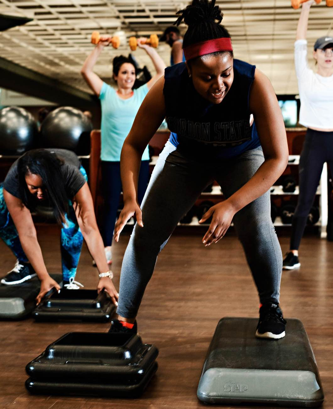 Life Time Fitness Inc - Bootcamp & Class Recommendations by Atlanta fitness blogger Happily Hughes