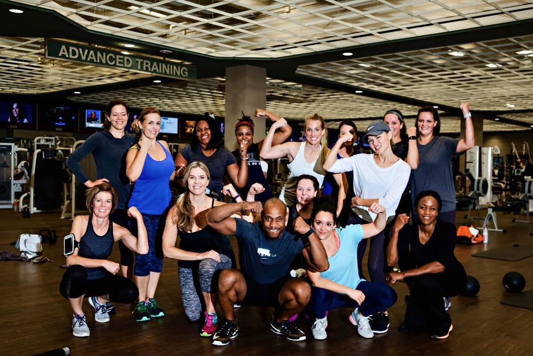 lifetime fitness bootcamp - Life Time Fitness Inc - Bootcamp & Class Recommendations by Atlanta fitness blogger Happily Hughes