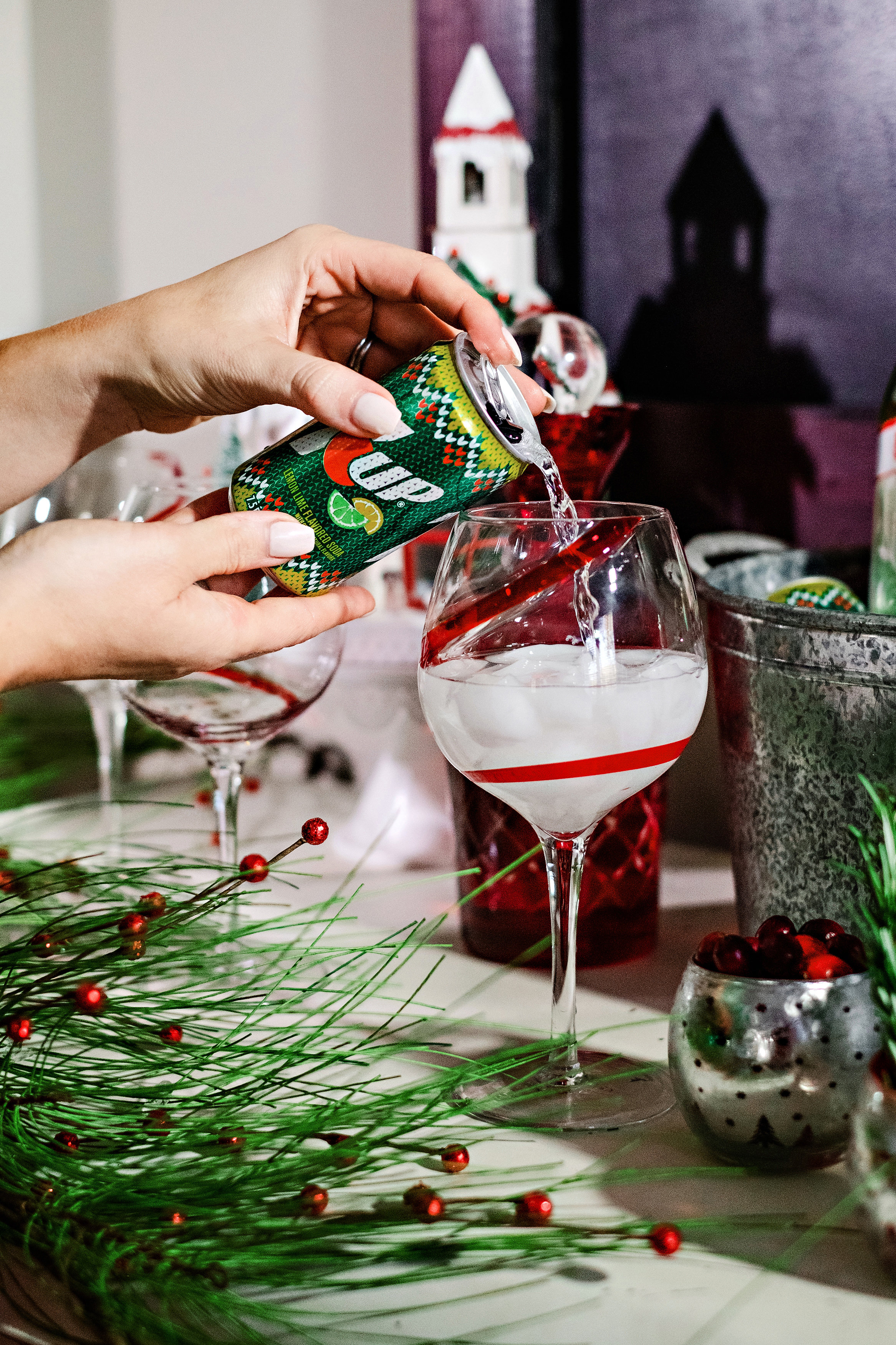 Ugly Sweater Party Ideas and Decor by Atlanta style blogger Happily Hughes & Ugly Sweater Party Ideas and Decor | Happily Hughes