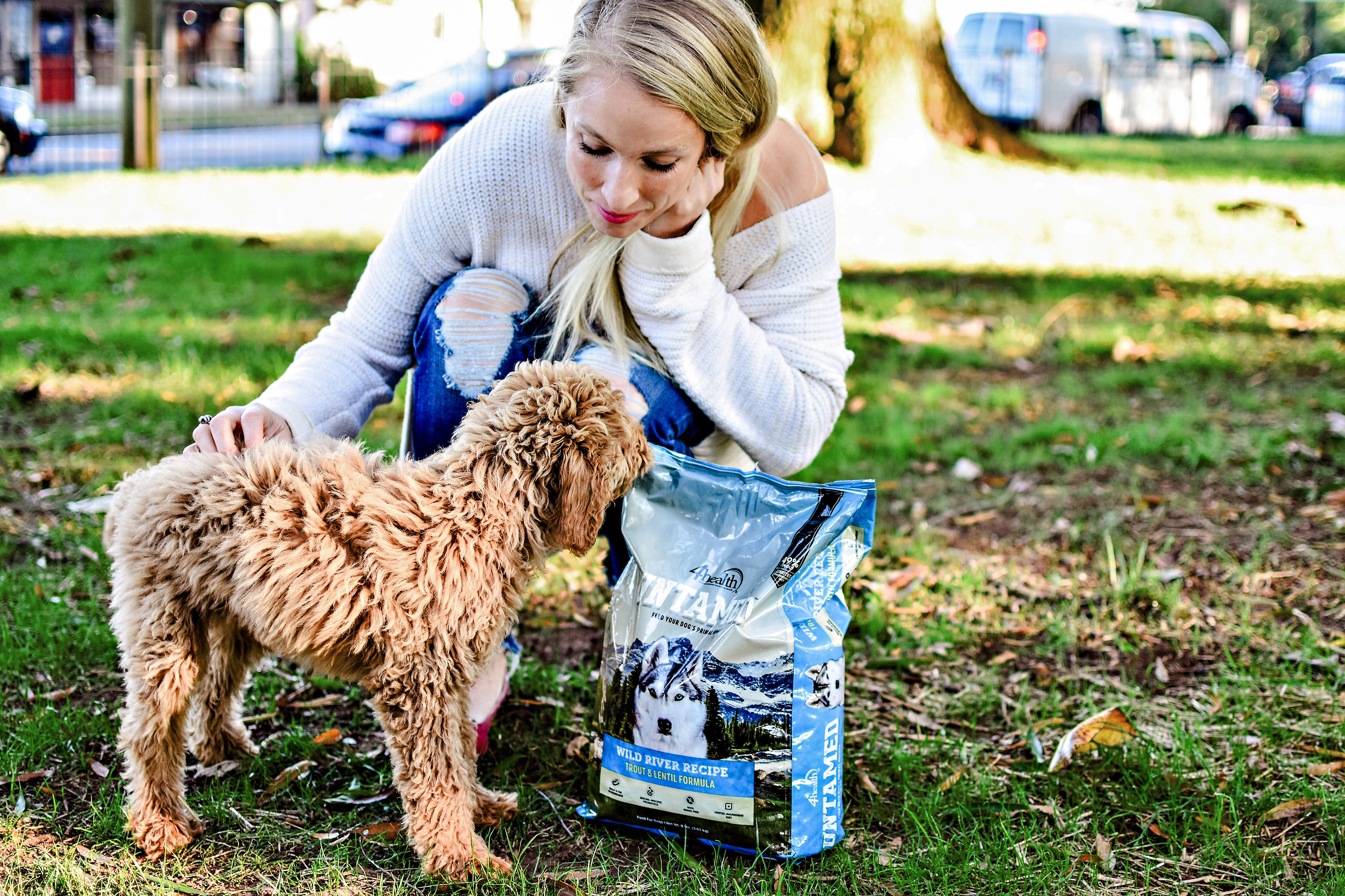 Untamed Dog Food review by popular Atlanta blogger Happily Hughes