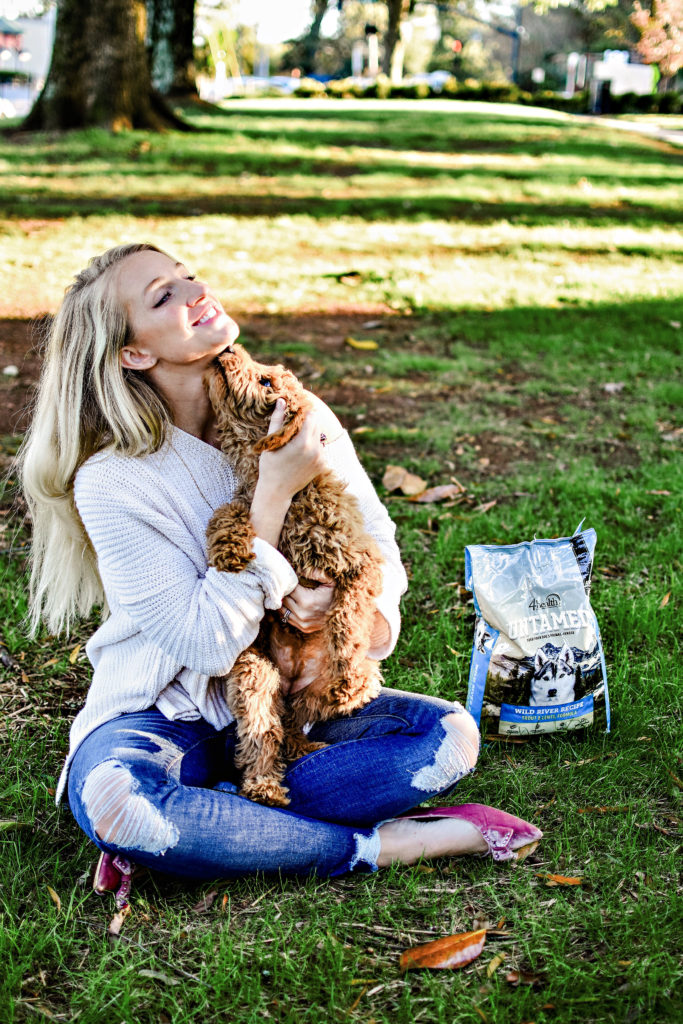 4health Puppy Food >> Untamed Dog Food Review | Family Life | Happily Hughes