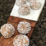 whole30 energy bites - Whole30 Snacks: Delicious Energy Bites by popular Atlanta fitness blogger Happily Hughes