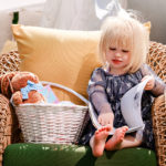 Themed Easter Basket Tutorial by popular Atlanta lifestyle blogger Happily Hughes
