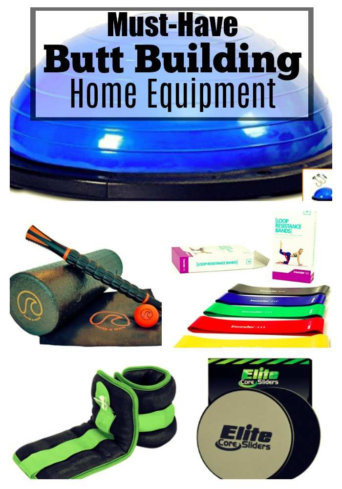 Gym Equipment for the Buttocks featured by popular Atlanta fitness blogger, Happily Hughes