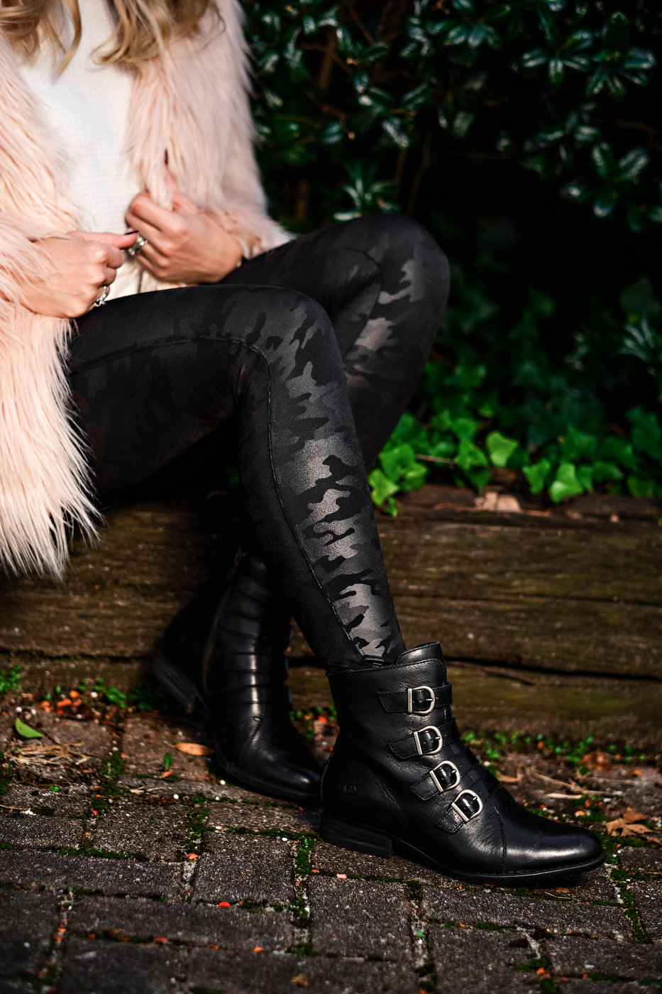 Searching for the perfect pair of winter booties? Popular Atlanta Blogger Happily Hughes is talking all about her favorite winter booties. See them here!