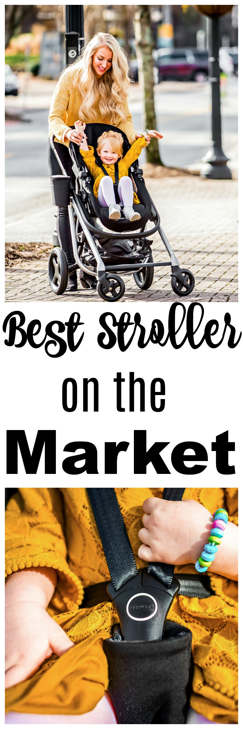 Looking for the best stroller? Popular Atlanta Blogger Happily Hughes is sharing why you need to grab a Maxi-Cosi Lila Stroller ASAP!