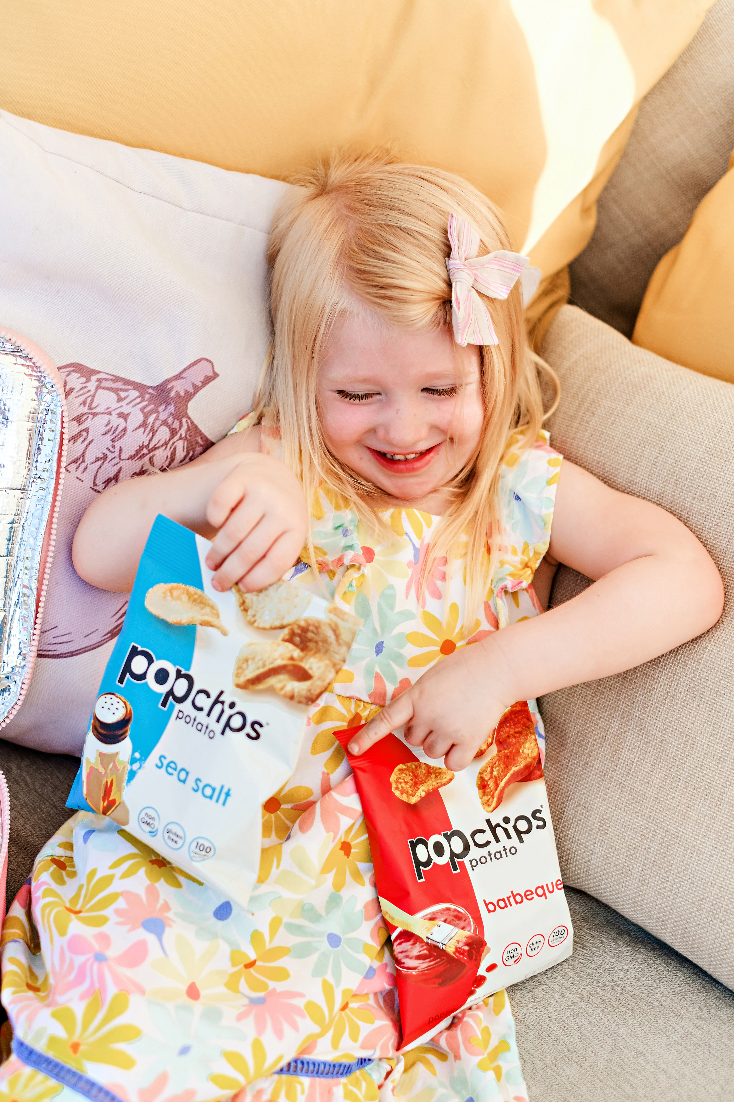 Need the perfect kids snack for on the go? Popular Atlanta Blogger Happily Hughes is sharing her favorite kids snack here!